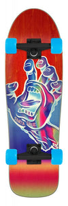 "Santa Cruz skateboard complete Iridescent Hand Shaped Cruze red 31.7"" SCR-COM-0305"