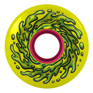 Santa Cruz - Slime Balls Skateboard Wheels (pack of 4) - OG 78A Yellow 60 mm - SLM-SKW-0041