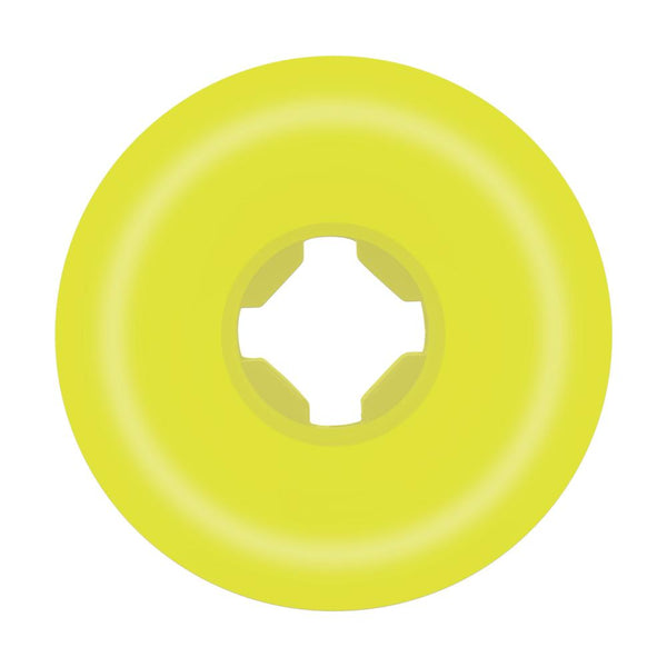 Santa Cruz - Slime Balls Skateboard Wheels (pack of 4) - Vomit Mini II Yellow 97a 54mm SLM-SKW-0108