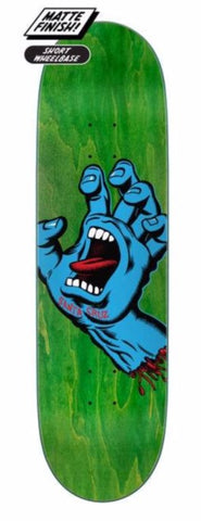 "Santa Cruz - Screaming Hand skateboard Deck 8.8"" - SCR-SKD-2337"