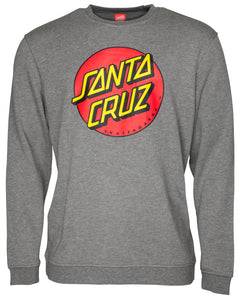 Santa Cruz - Classic Dot - Crew Sweater