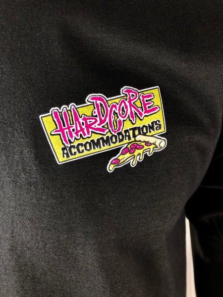 THRILLA KREW - HARDCORE ACCOMMODATIONS TEE BLACK