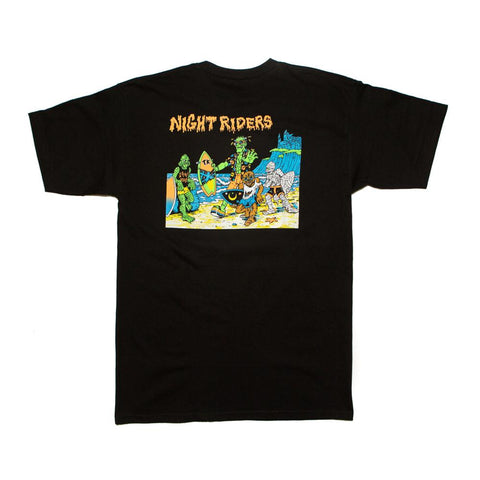 Thrilla Krew - Nightrider Tee shirt - Black