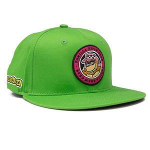 Thrilla Krew - Dot Logo Snapback / Hat / Cap - Lime Green