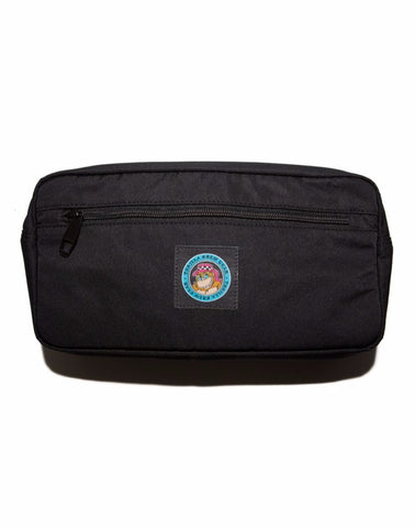 THRILLA KREW - DOT LOGO HIP BAG BLACK