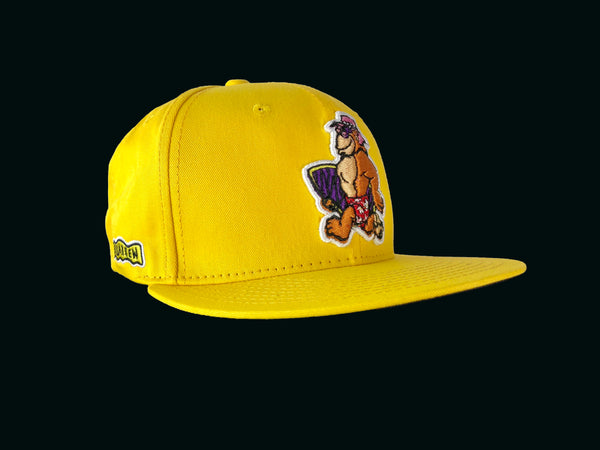 Thrilla Krew - Walking Thrilla Snapback / Hat / Cap - Yellow