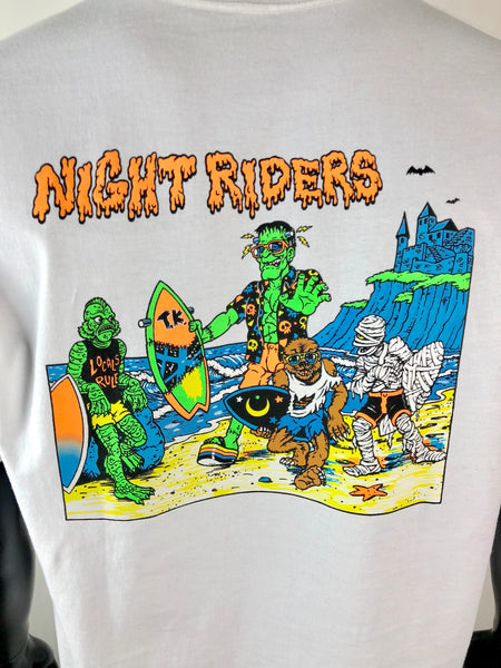 Thrilla Krew - Nightrider Tee shirt - White