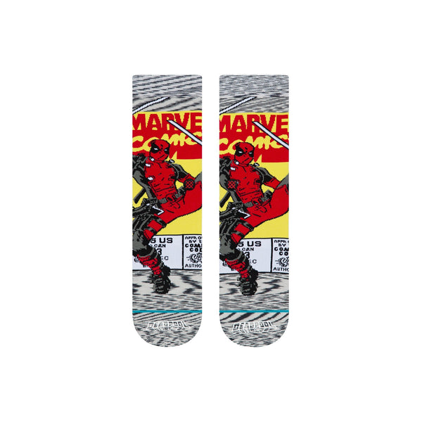 Stance - Deadpool Comic - Socks - U545C19DEA-GRY