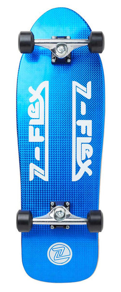 Z-Flex - Skateboard Complete 80's Crystal Z-Bar - Blue Crystal - ZFX-COM-0016