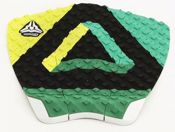 Komunity KP - Tribal Surfboard Grip Surf Traction Pad Lime