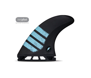 Futures - F8 Alpha - Thruster 3 fins - Carbon / Green