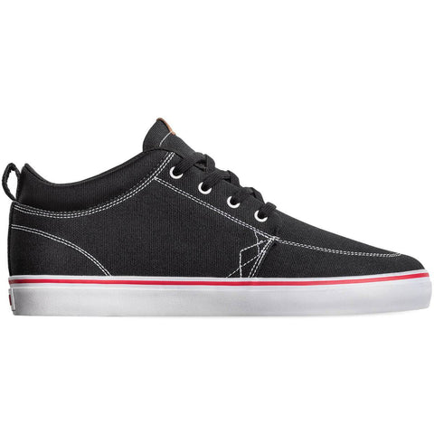 Globe shoes GS Chukka - Black / White / Canvas - GBGSCHUKKA-20483