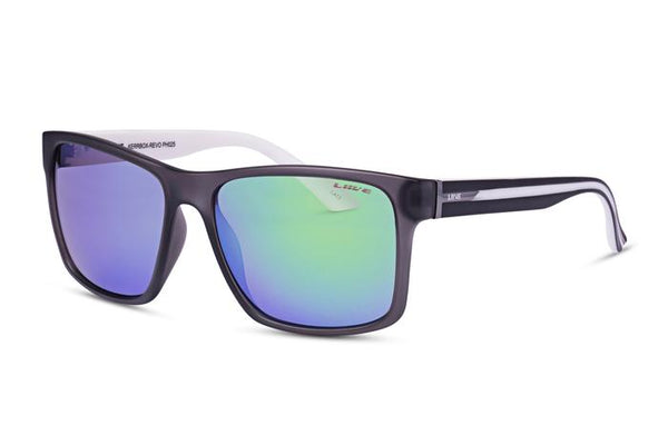 Liive - Sunglasses - Kerrbox - Mirror Matt Xtal Black/White - L0505A