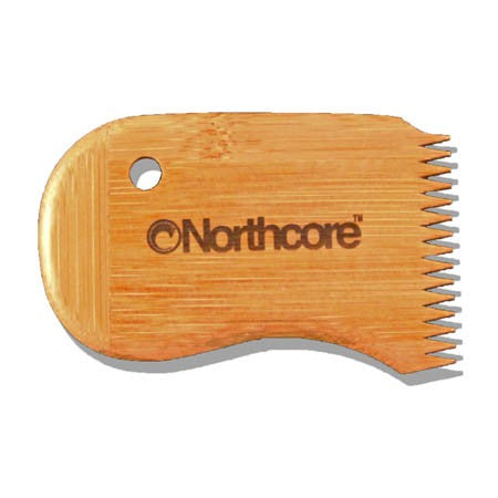 Northcore - 2018 - Bamboo Surf Wax Comb - NOCO17D