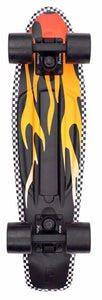 "Penny cruiser skateboard 22"" Flame Black / Yellow PNY-COM-0086"