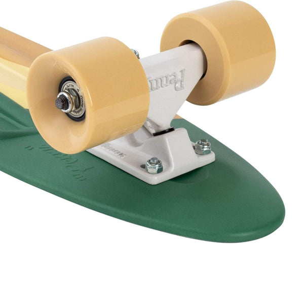 "Penny cruiser skateboard 22"" Swirl  Green / Yellow PNY-COM-0088"