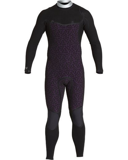 Billabong x Metallica Wetsuit  - 2020 - Black Album Furnace Comp - 3/2mm - Men's CZ GBS -S43M60