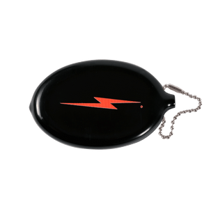 Lightning Bolt - Bolt coin pouch black - 99AUNCAR001K00