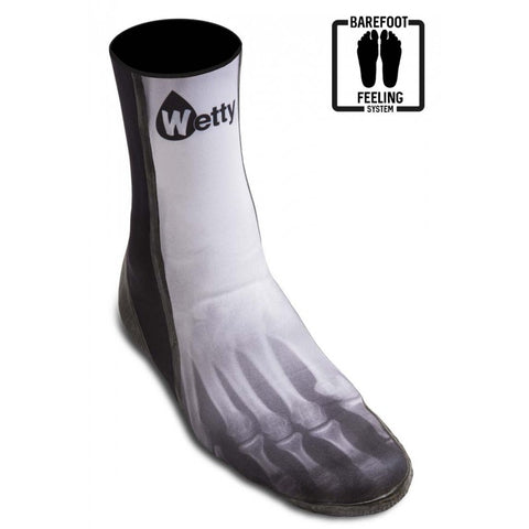 Wetty - Surf Boots 3mm Skeletor - BARE3SK1