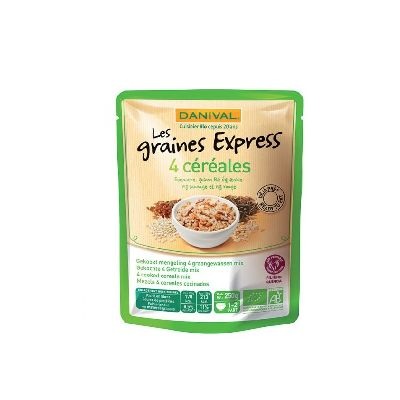 Graines Express 4 Cereales 250g Danival