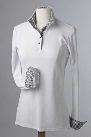 Éce Equestrian Long Sleeve Competition Knit Shirt