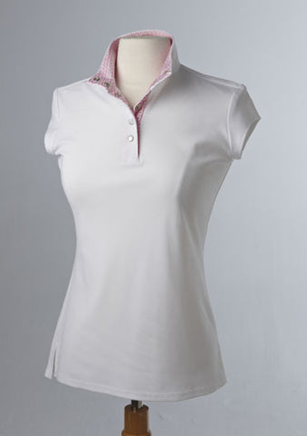 Éce Equestrian Short Sleve Competition Shirt