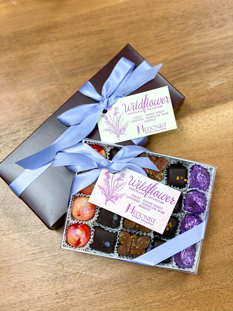 Hedonist Wildflower Chocolate Collection