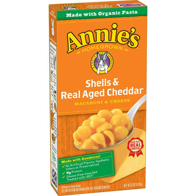 Annies Mac N Cheese Shells & Cheddar