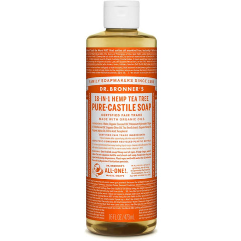 Dr. Bronners Tea Tree Soap
