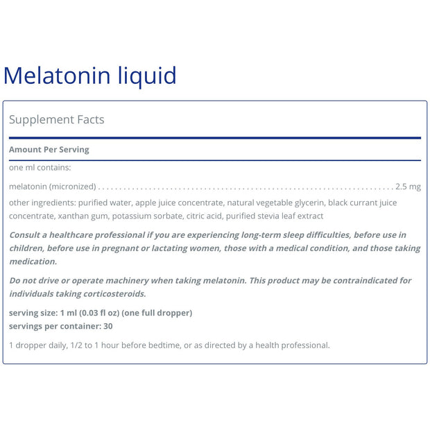 Melatonin Liquid (30ml)