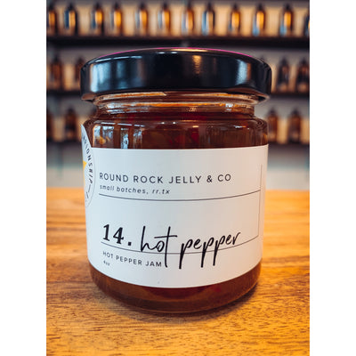 Round Rock Jelly Co. Hot Pepper 4oz
