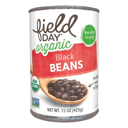 Field Day Organic Canned Black Beans