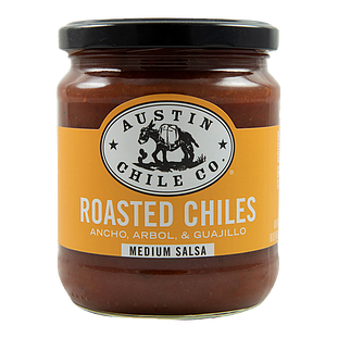 Austin Chile Co. Roasted 3 Chile Salsa