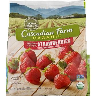 Cascadian Farms Organic Frozen Strawberries