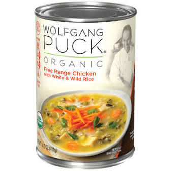 Wolfgang Puck Chicken & Wild Rice Soup
