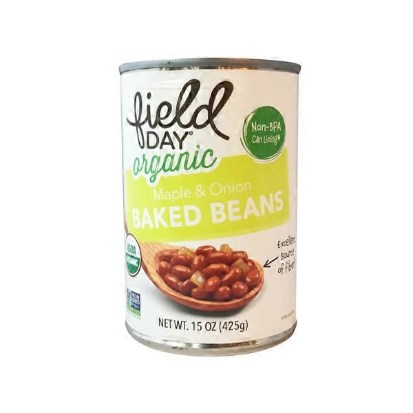 Field Day Organic Maple & Onion Baked Beans