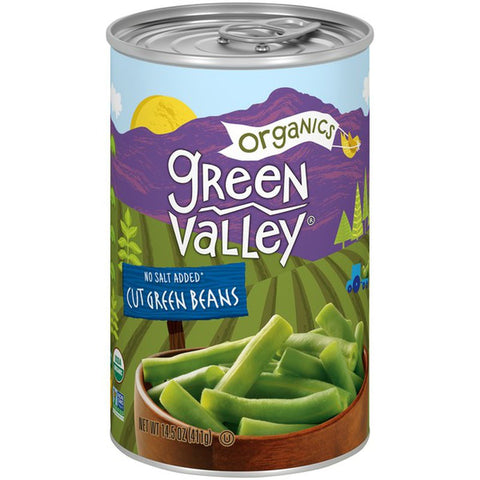 Green Valley Organic Canned Green Beans