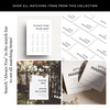 Always You Printed Invitations Package