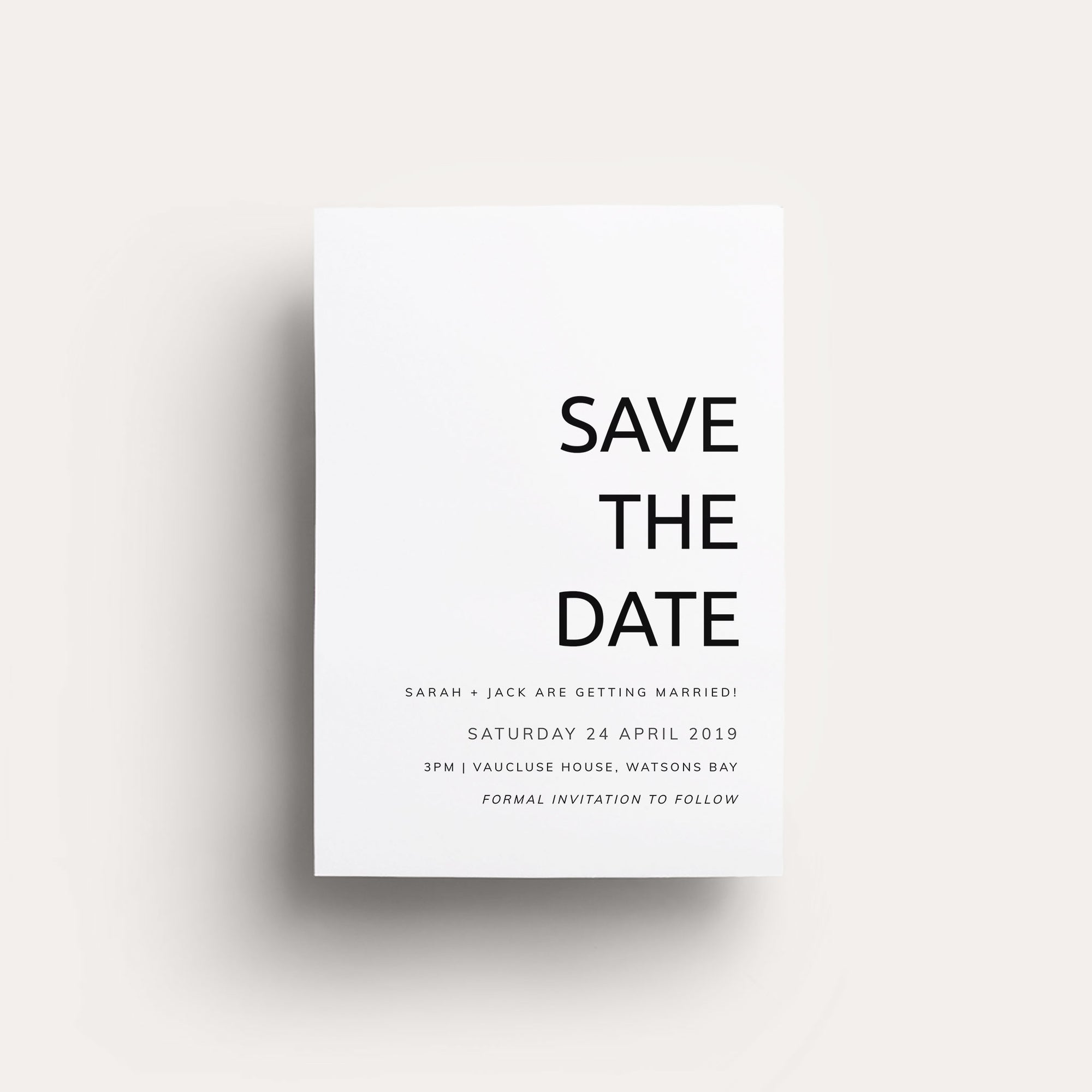 Digital Always You Save The Date