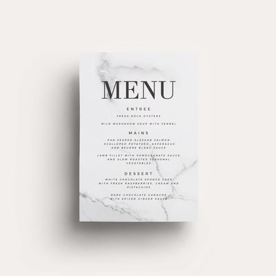 Digital One Love Menu