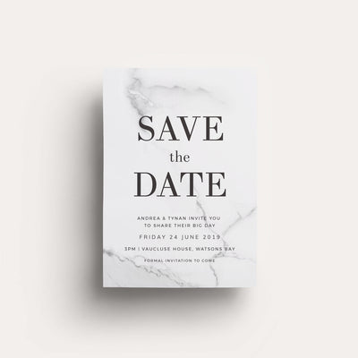 Digital One Love Save The Date