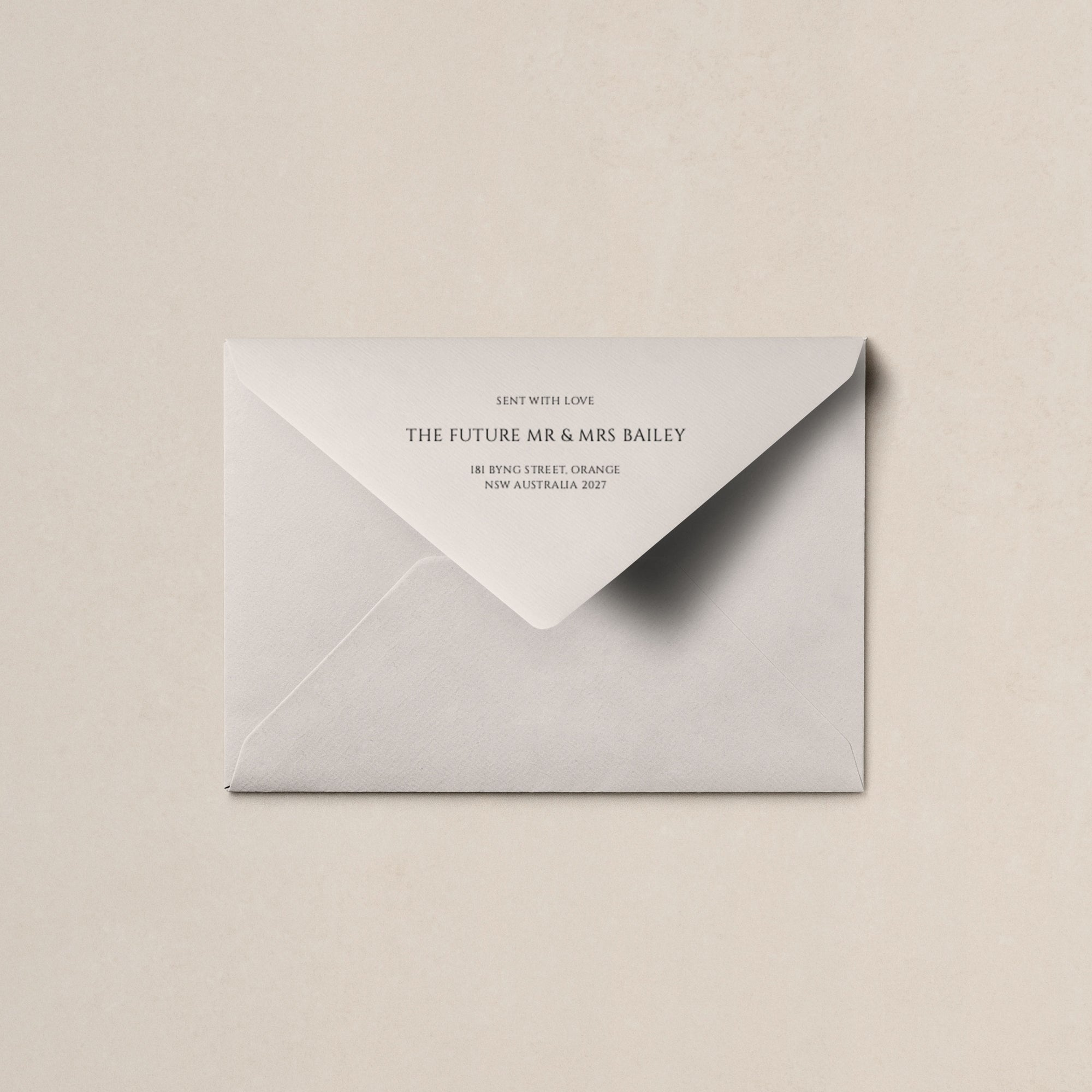 Lovestoned Printed Envelopes