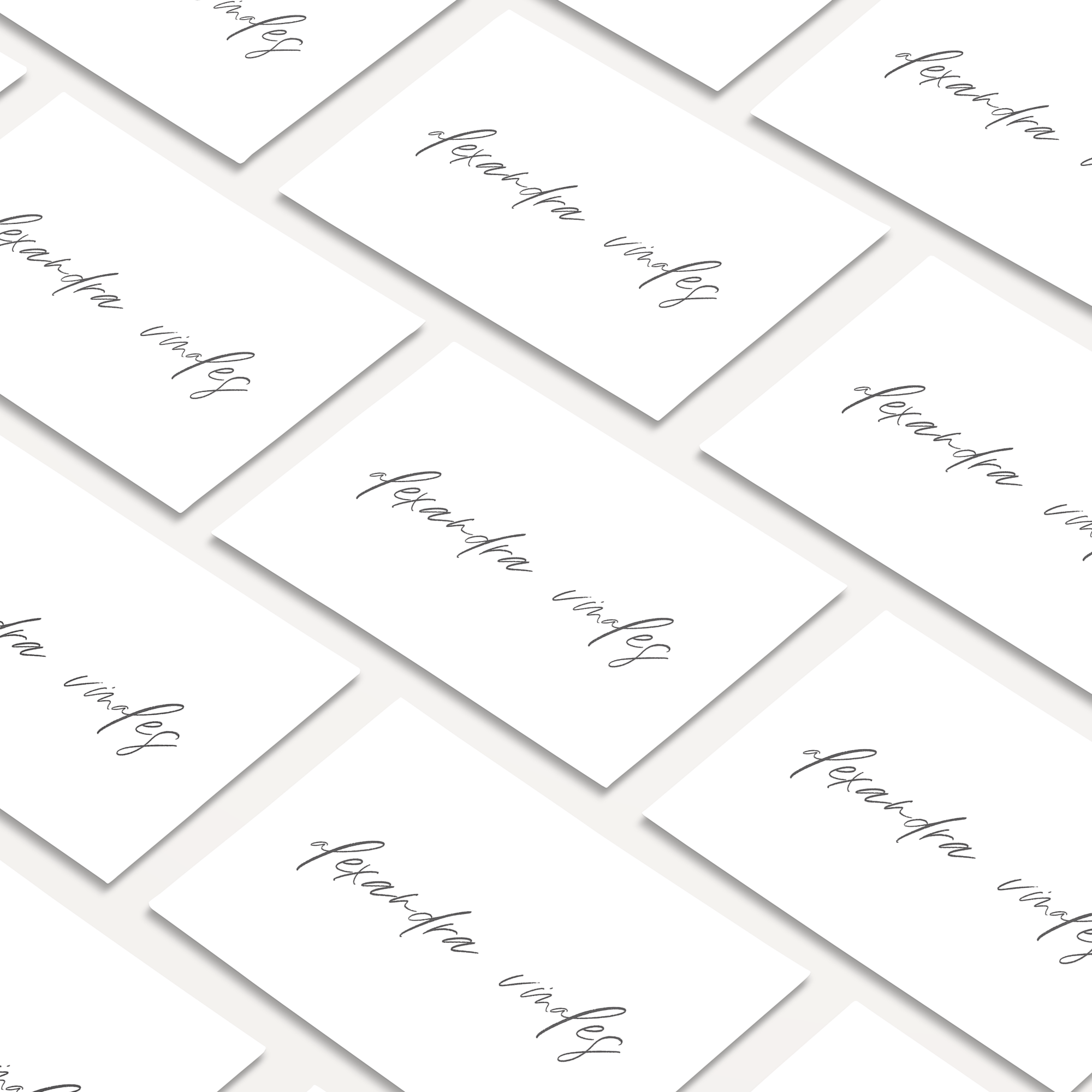 Lost In Love Place Cards