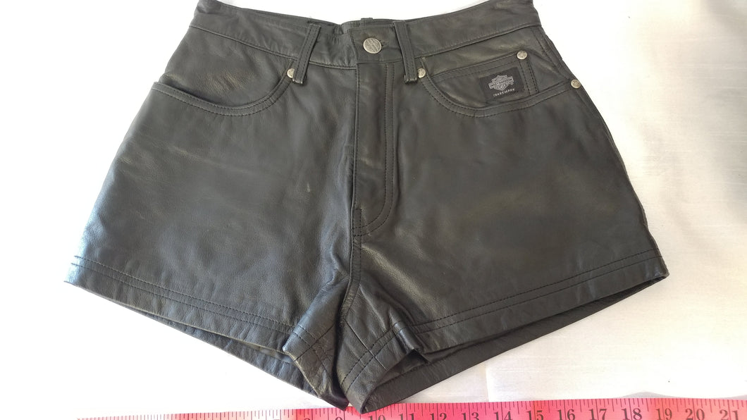 Ladies HD Leather Shorts
