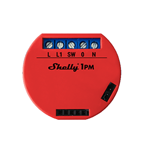 Shelly PM Relay