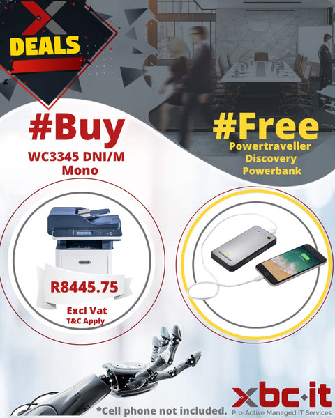 Xerox WC 3345 +Free-B PowerBank