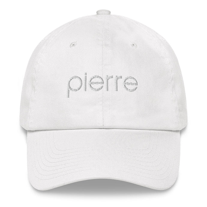 Dad Hat in White and Black