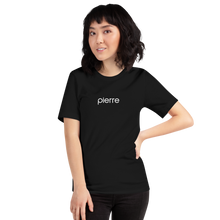 Load image into Gallery viewer, #Groomerforlife Short-Sleeve Unisex Pierre T-Shirt in Pink and Black