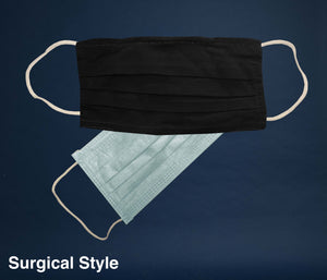 Fabric Face Mask Surgical Filter 2 layer