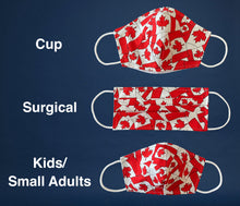 Load image into Gallery viewer, Non-Medical Reusable Fabric Face Mask Canadian Flag Filter pocket